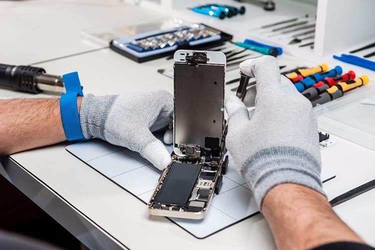 reparación smartphones