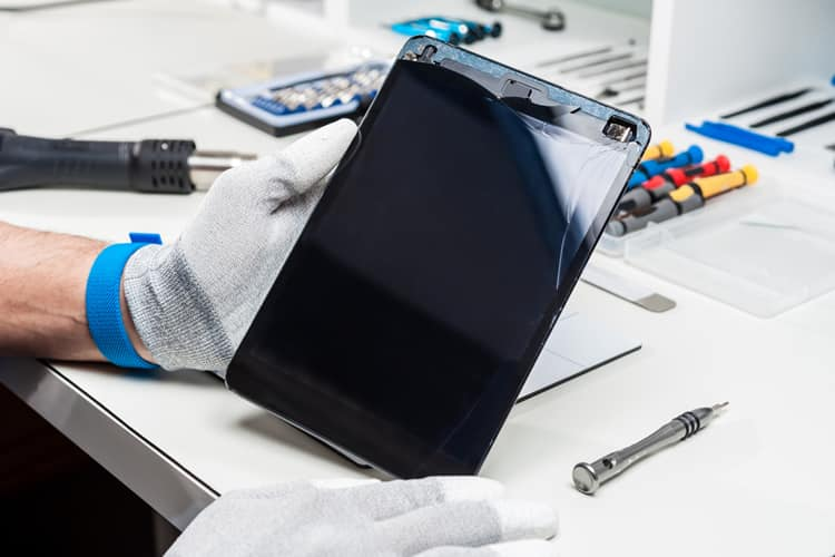 reparación tablets