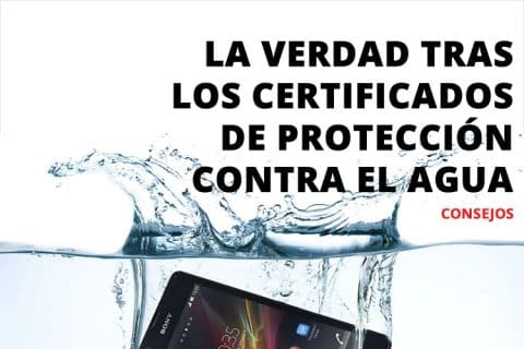 La verdad tras los certificados de protección contra el agua