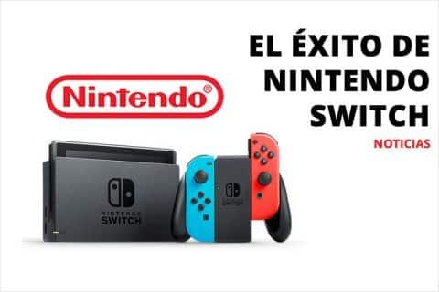 El éxito de Nintendo Switch