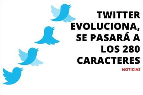 Twitter evoluciona, se pasará a los 280 caracteres