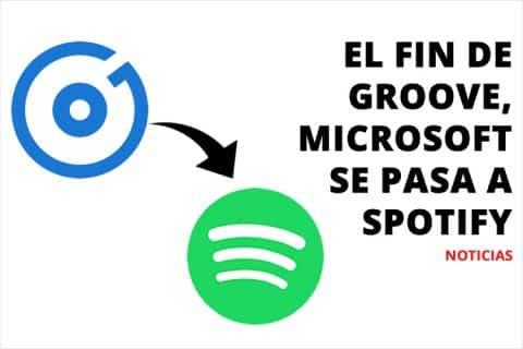 El fin de Groove, Microsoft se pasa a Spotify