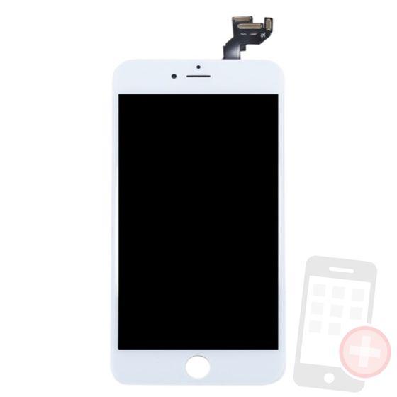 Pantalla completa para iPhone 6S plus con componentes blanca