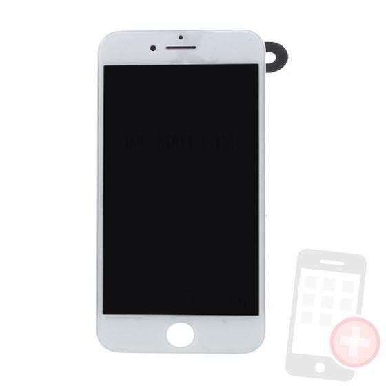 Pantalla completa para iPhone 7 con componentes blanca