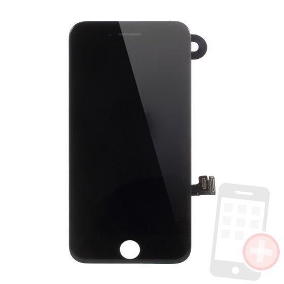 Pantalla completa para iPhone 7 con componentes negra