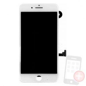 Pantalla-completa-para-iPhone-7-plus-con-componentes-blanca