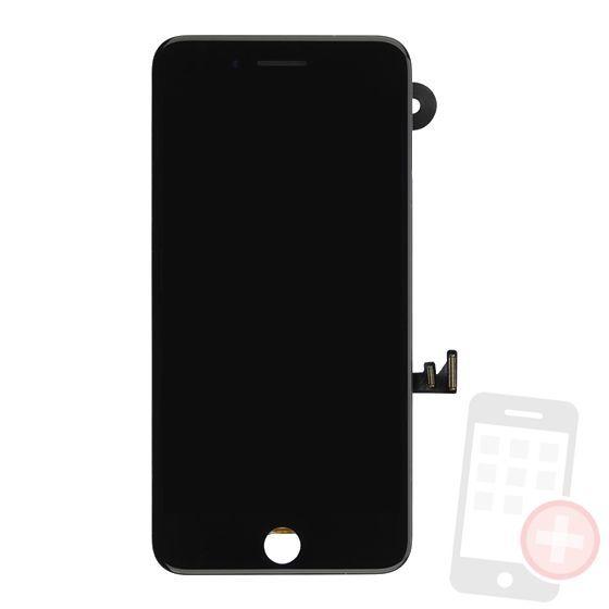 Pantalla completa para iPhone 7 plus con componentes negra