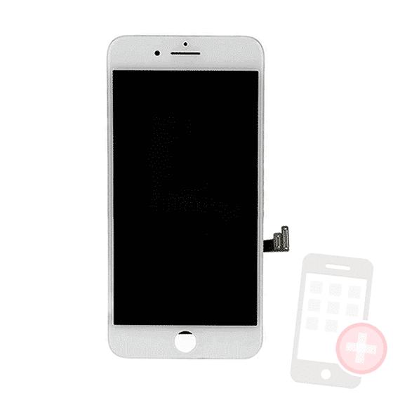 Pantalla completa iPhone 8 con componentes blanco