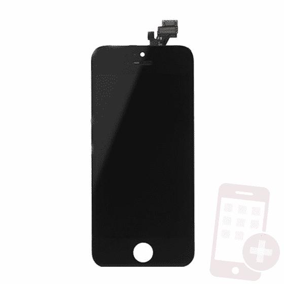 Pantalla completa para iPhone 5 negro