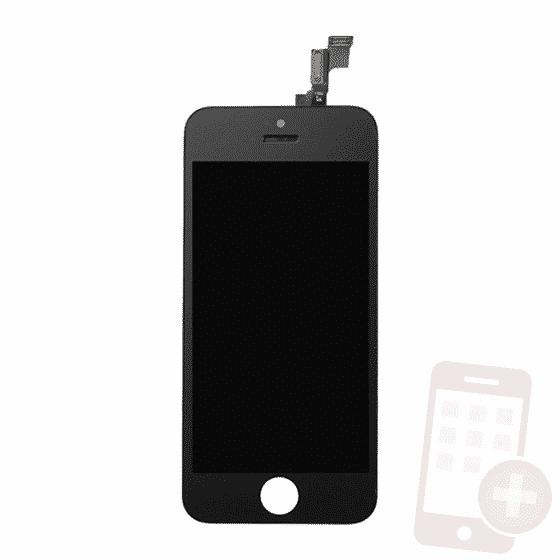 Pantalla completa para iPhone 5S negro